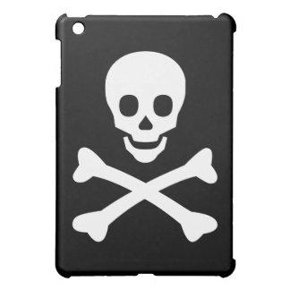 Totenkopf mit gekreuzter Knochen iPad Mini Hüllen