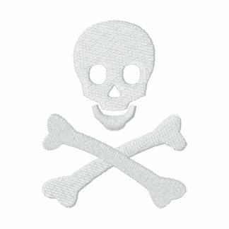 Totenkopf mit gekreuzter Knochen Polo Shirt