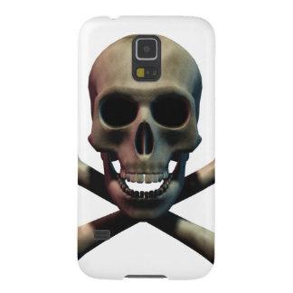 Totenkopf mit gekreuzter Knochen Samsung S5 Hülle