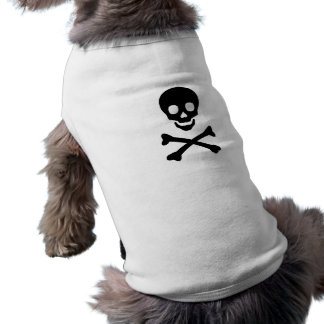 Totenkopf mit gekreuzter Knochen Shirt
