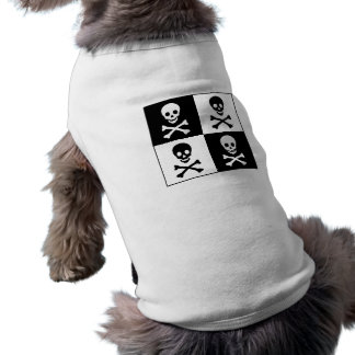 Totenkopf mit gekreuzter Knochen Top