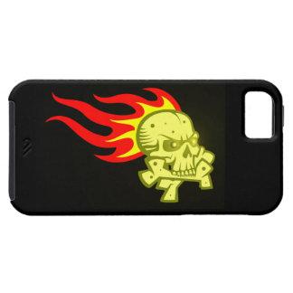 Totenkopf Schädel Flammen skull flames Hülle Fürs iPhone 5