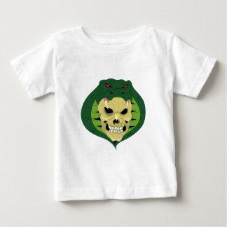 Totenkopf Schädel Schlange skull snake Baby T-shirt