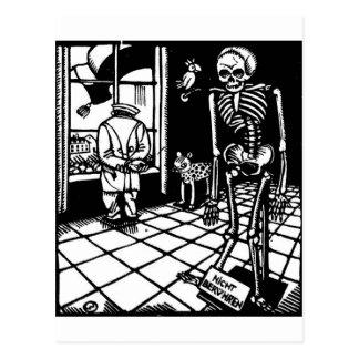 Totentanz TodesMärz durch Postkarte