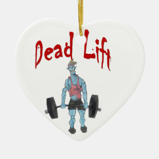 Toter Aufzug Keramik Herz-Ornament