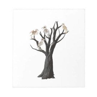 Toter Baum Notizblock