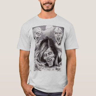 Toter lebendiger T - Shirt