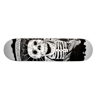 Toter mexikanischer wütender Mariachi-Schädel 19,7 Cm Skateboard Deck