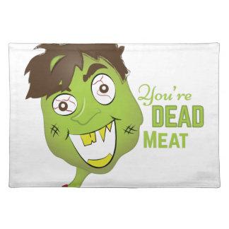 Totes Fleisch Tisch Set