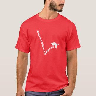 Totes Katzen-Schlag-Börse-Shirt T-Shirt