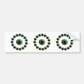 Tötet Übel - das Augen-Sammlung des Drachen Auto Sticker