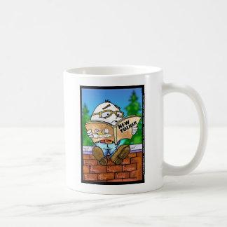 Tötete New Yorker Humpty Dumpty? Cartoon-Geschenke Kaffeetasse