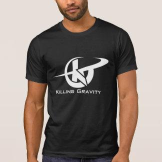 Tötungs-Schwerkraft-extremes athletisches T-Shirt. T-Shirt