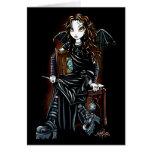 Tötungs-Zeit-gotische Feen-Karte