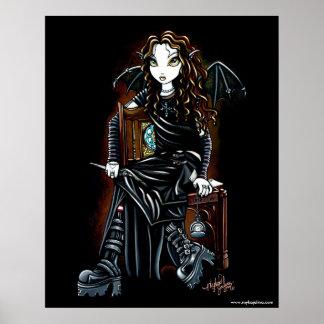 Tötungs-Zeit-gotisches Feen-Plakat Poster