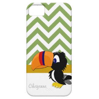 Toucan grünes Zickzack iPhone 5 kaum dort iPhone 5 Hülle