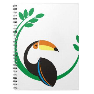 Toucan Notizblock