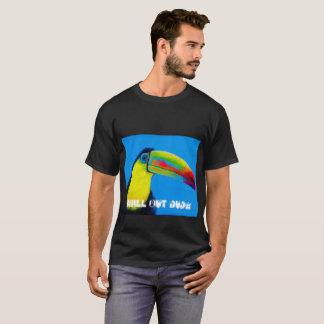 """Toucan tropischer Vogel """"kühlen heraus Typ """" T-Shirt"""