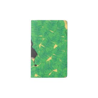Toucan und Bananen-Blätter Moleskine Taschennotizbuch
