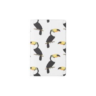 Toucans Moleskine Taschennotizbuch