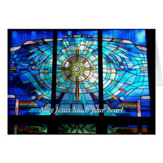 Touch Mais Jesus Ihr Herz Karte