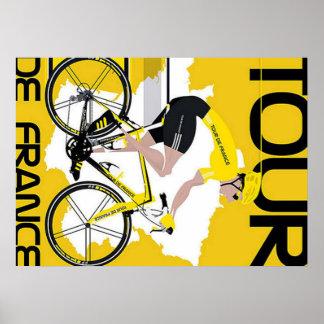 Tour de France postieren Poster