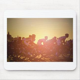 Tour de France-Sonnenuntergang Mousepad