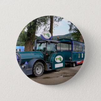 Touristischer Shuttlezug, Durnstein, Österreich Runder Button 5,1 Cm