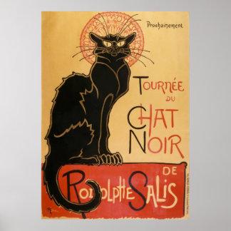 Tournee Du Chat Noir (die schwarze Katze) Poster