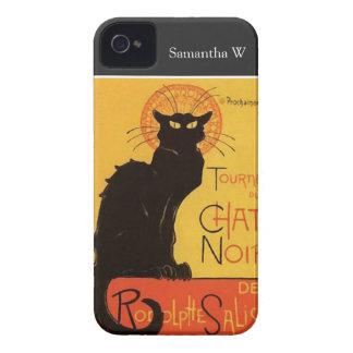 Tournée du Chat Noir, Steinlen schwarze Katze Vint Case-Mate iPhone 4 Hüllen