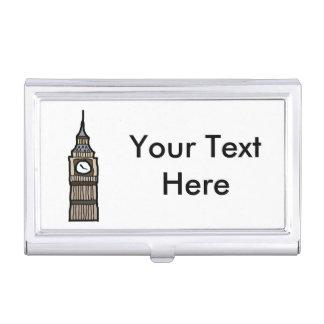 Tower von London Big Ben Cartoon-Illustration Visitenkarten-Dosen