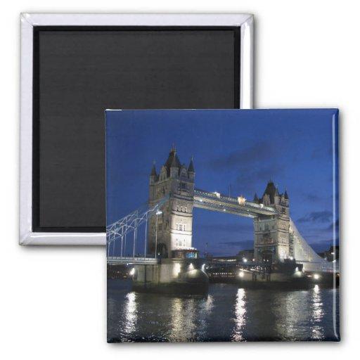Tower von London Brücke Kühlschrankmagnet