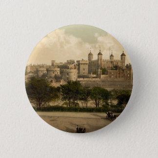 Tower von London, London, England Runder Button 5,7 Cm