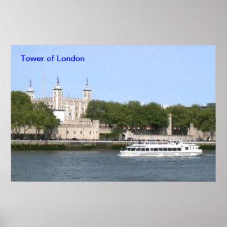 Tower von London Plakat