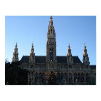 Townhall in Wien, Österreich Postkarte