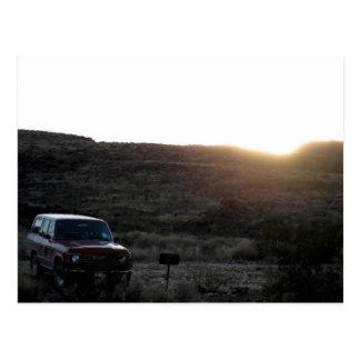 Toyota landen Kreuzer-Postkarte Postkarte