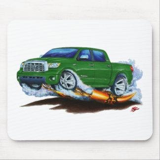 Toyota-Tundra Crewmax grüner LKW Mousepad