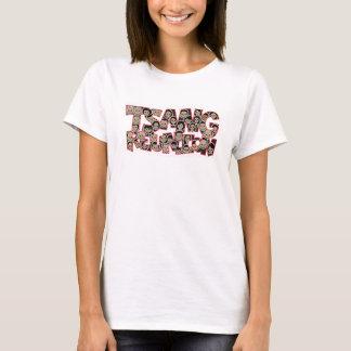 Tr-Buchstaben T-Shirt