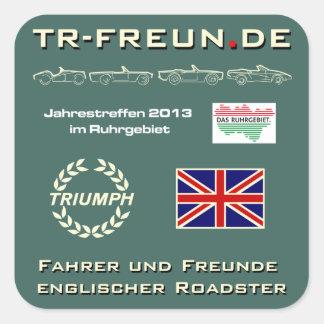 TR-Freunde Treffen 2013 - Aufkleber