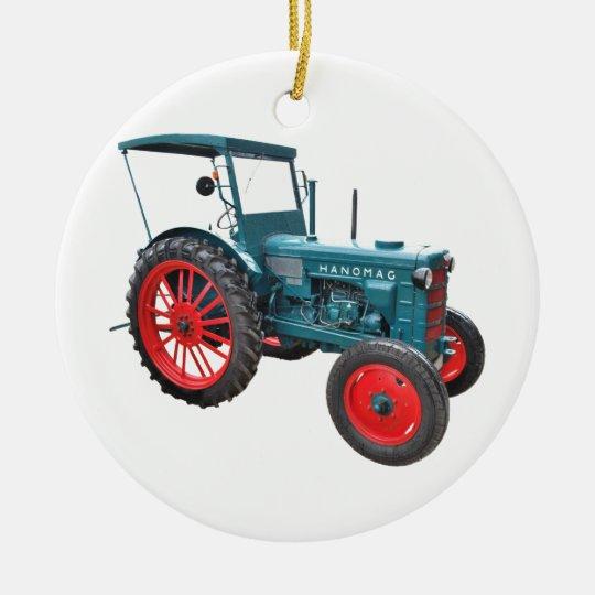 Tractor Keramik Ornament