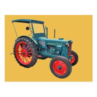 Tractor Postkarte
