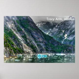 Tracy Arm, Alaska Poster