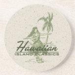 Tradewinds Hula Mädchen hawaiische Tiki Bar-Unters