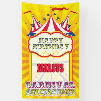 Traditionell, Karnevals-Geburtstags-Party Banner