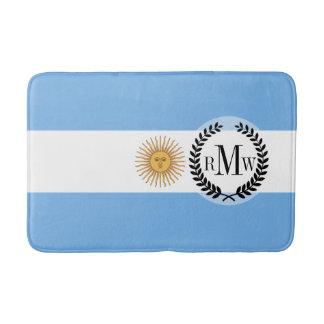 Traditionelle Argentinien-Flagge Badematte