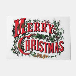 Traditionelle Art-frohe Weihnachten Türmatte