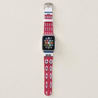 Traditionelle Farben die Affinität der Apple Watch Armband