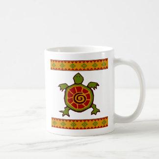 traditionelle Grenze Wirbles turtle.ai Kaffeetasse