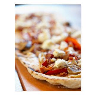 Traditionelle italienische Pizza Postkarte