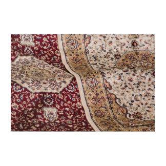 Traditionelle türkische Teppiche Acryldruck